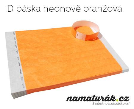 neonově oranžová