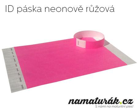 neonově růžová
