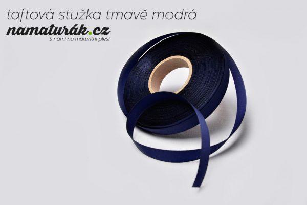 stuzky_taftova_tmave_modra