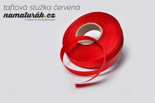 stuzky_taftova_cervena